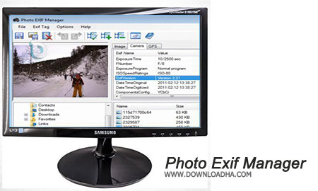 Photo Exif Manager ویرایش و حذف متادیتا عکس ها Photo Exif Manager 3.0