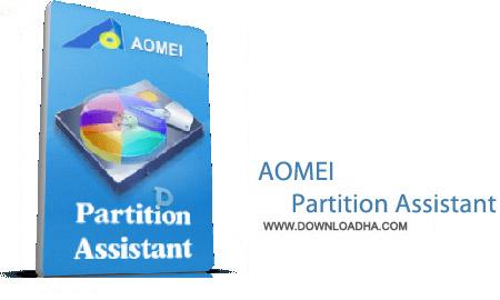 AOMEI Partition Assistant نرم افزار پارتیشن بندی هارد AOMEI Partition Assistant 6.0