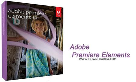 Adobe Premiere Elements نرم افزار ویرایش فایل های ویدئویی Adobe Premiere Elements 14.1