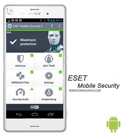 ESET Mobile Security  تامین امنیت کامل گوشی با ESET Mobile Security 3.2.4.0   نسخه اندروید