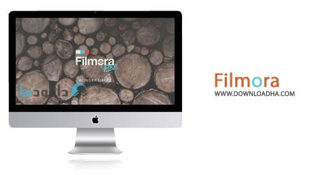 Filmora cover نرم افزار ویرایش حرفه ای فیلم Wondershare Filmora 6.8.0 – نسخه Mac
