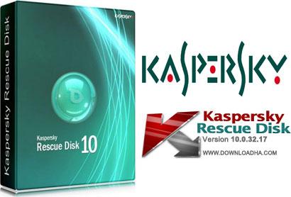 Kaspersky Rescue Disk دیسک نجات بی نظیر Kaspersky Rescue Disk 10.0.32.17 data 2015.12.13