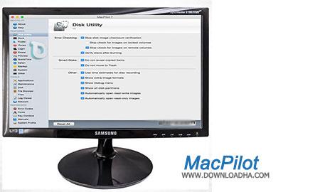 MacPilot  بهبود کارایی سیستم در مکینتاش با MacPilot 8.0.5