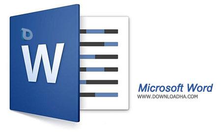 Microsoft Word نرم افزار ورد Microsoft Word 2016 16.0.4300.1000