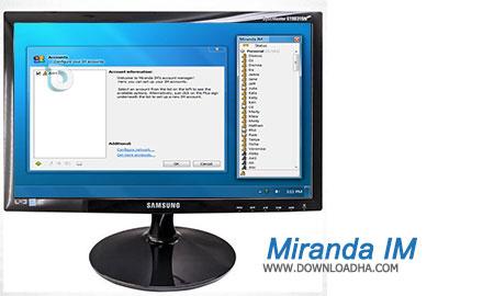 Miranda IM پیام رسان قدرتمند و چندمنظوره به نام Miranda IM 0.10.40