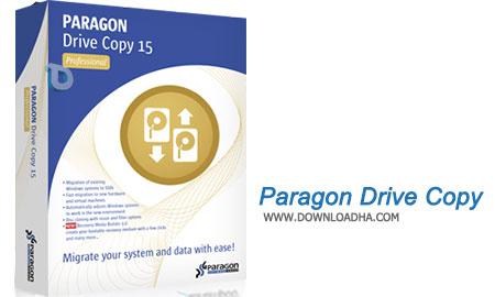 Paragon Drive Copy  کپی سازی از کامپیوتر خود و حمل به هرجا با Paragon Drive Copy 15 Professional 10.1.25.431