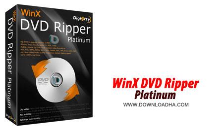 WinX DVD Ripper Platinum ریپ کردن دی وی دی ها با WinX DVD Ripper Platinum 7.5.13