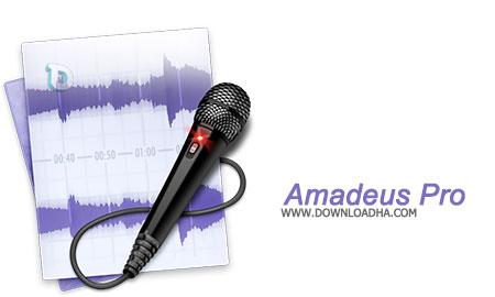 Amadeus Pro ویرایش حرفه ای فرمت های صوتی توسط Amadeus Pro 2.2.2 – نسخه Mac