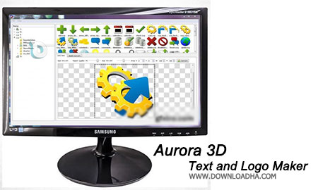 Aurora 3D Text and Logo Maker طراحی لوگو و متون سه بعدی با Aurora 3D Text and Logo Maker v14.10211553