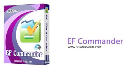 EF Cammander دانلود نرم افزار مدیریت فایل EF Commander 11.10