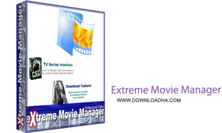 Extreme Movie Manager نرم افزار آرشیو کردن فیلم ها eXtreme Movie Manager 8.5.1.0