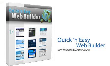 Quick Easy Web Builder نرم افزار طراحی سایت Quick n Easy Web Builder 3.1.4   نسخه Mac