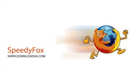 SpeedyFox نرم افزار افزایش سرعت مرورگر فایرفاکس SpeedyFox 2.0.14.95