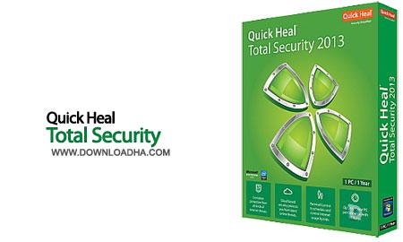 quick heal total security  امنیت کامل در دنیای کامپیوتر Quick Heal Total Security 2015 16.00