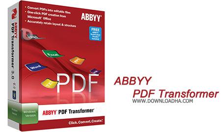 ABBYY PDF Transformer تبدیل متون PDF به آفیس ABBYY PDF Transformer+ 12.0.504.263