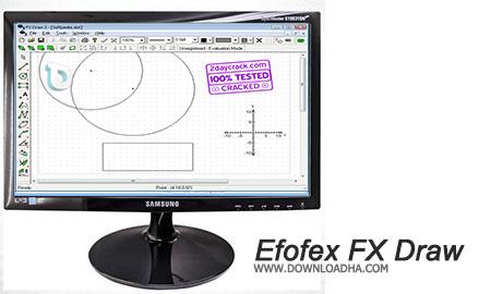 Efofex FX Draw طراحی پیشرفته اشکال هندسی متحرک با Efofex FX Draw 6.001.3