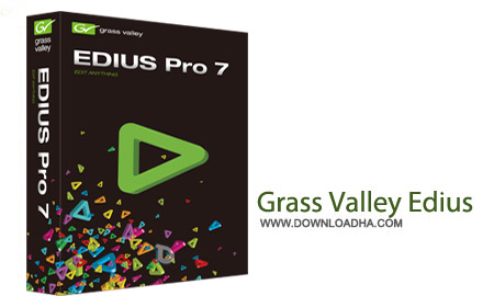 Grass Valley Edius  نرم افزار میکس فیلم  Grass Valley EDIUS Pro 8.1 Build 188