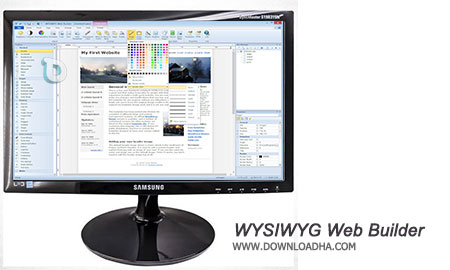 WYSIWYG Web Builder نرم افزار طراحی آسان صفحات وب WYSIWYG Web Builder 11.0.1
