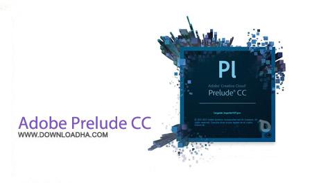 Adobe Prelude نرم افزار ادوبی پریلیود Adobe Prelude CC 2015.4 v5.0.1