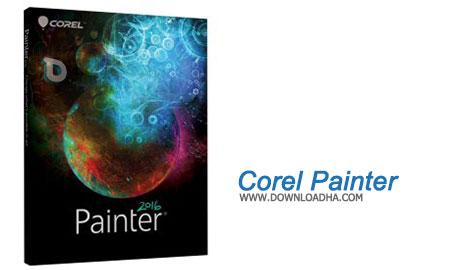 Corel%20Painter نرم افزار نقاشی دیجیتال کورل پینتر Corel Painter 2017 v16.0.0.400