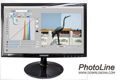 PhotoLine ویرایش حرفه ای تصاویر با PhotoLine 19.50   نسخه Mac
