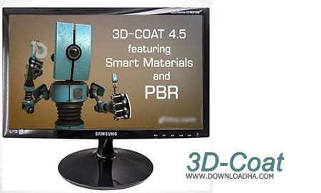 3D Coat طراحی سه بعدی با 3D Coat v4.5.38