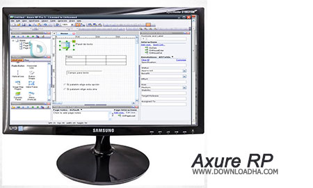 Axure RP نمونه سازی وب سایت با Axure RP 8.0.0.3308 Team Edition