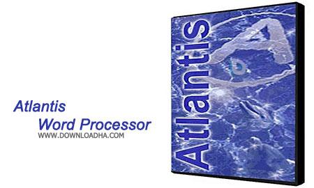 Atlantis Word Processor ویرایشگر متن Atlantis Word Processor 2.0