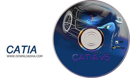 CATIA نرم افزار کتیا DS CATIA P3 V5 6R2016 GA SP0
