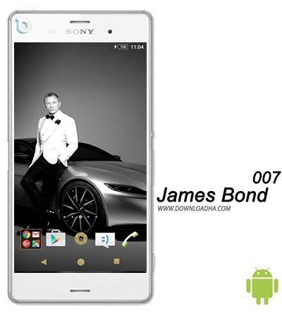 James Bond 007 دانلود تم بدون نیاز به روت James Bond 007 برای گوشی های اکسپریا
