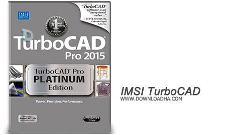 IMSI TurboCAD طراحی ۳بعدی با IMSI TurboCAD Pro Platinum 2016 23.2 Build 51.1