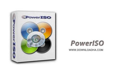 PowerISO مدیریت فایل های ISO با PowerISO 6.6