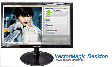VectorMagic Desktop ساخت وکتور از تصاویر با VectorMagic Desktop Edition 1.15