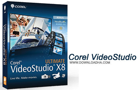 Corel VideoStudio نرم افزار کورل ویدیو Corel VideoStudio Ultimate X9 19.5.0.35