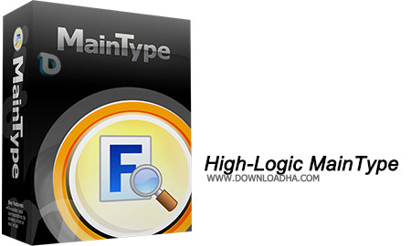 High Logic MainType مدیریت فونت ها High Logic MainType Professional Edition 7.0.0 Build 1009