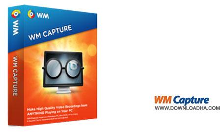 wmcapture نرم افزار ضبط ویدیوهای آنلاین WM Capture 8.6.2