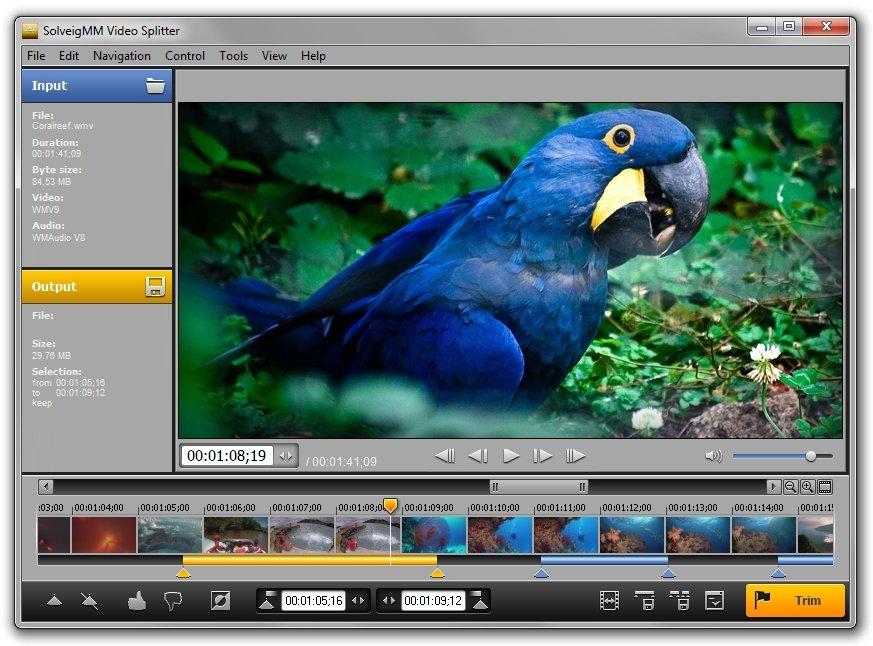 دانلود SolveigMM Video Splitter 6.1.1807.23 – نرم افزار حذف قسمتی از فیلم