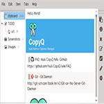 CopyQ-اسکرین-شات