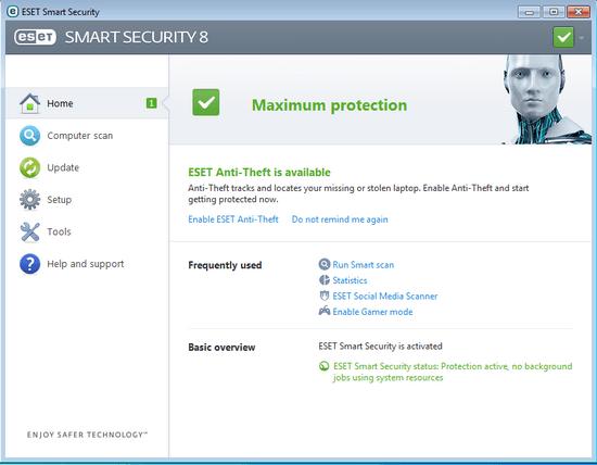 دانلود آپدیت آفلاین eset smart security