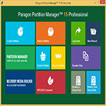 Paragon Partition Manager s1 نرم افزار پارتيشن بندي Paragon Partition Manager 15 Professional 10.1.25.779