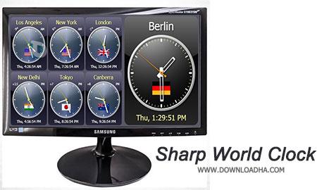 Sharp-World-Clock