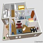 Sweet-Home-3D-اسکرین-شات