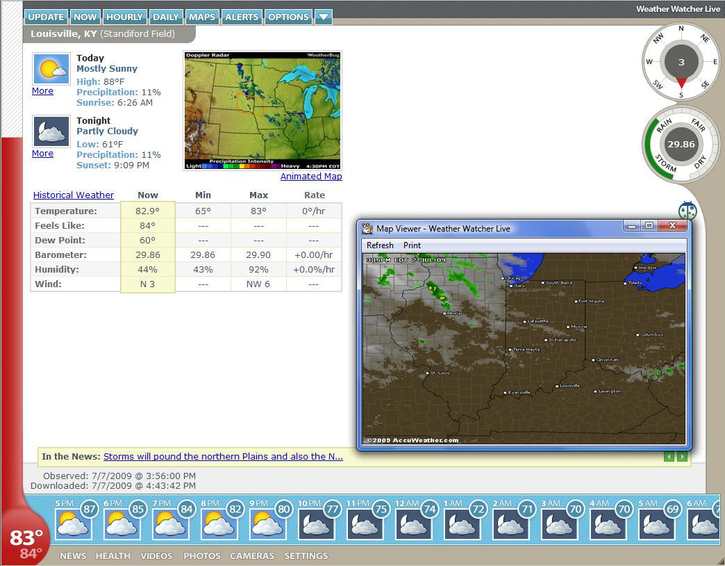 دانلود Weather Watcher Live 7.2.133 – نرم افزار هواشناسی