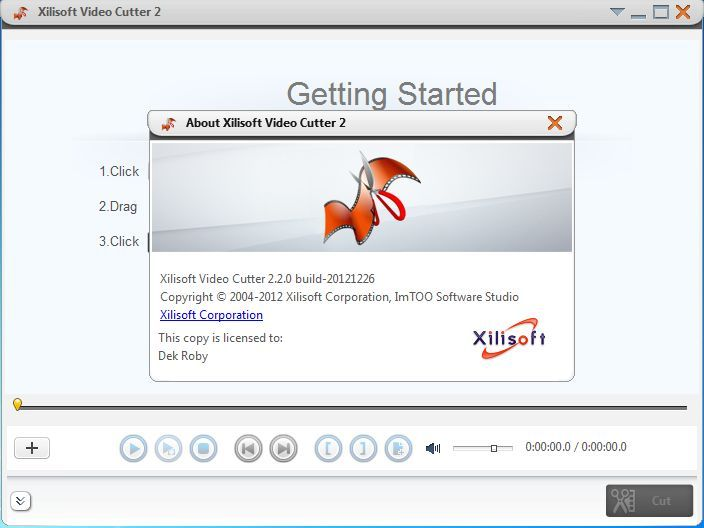 Xilisoft video cutter 2.2.0