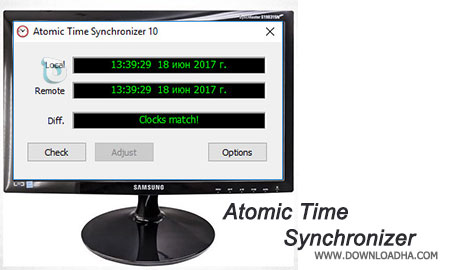 Atomic-Time-Synchronizer
