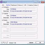 CPU-Z-اسکرین-شات