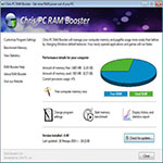 Chris-PC-RAM-Booster-اسکرین-شات