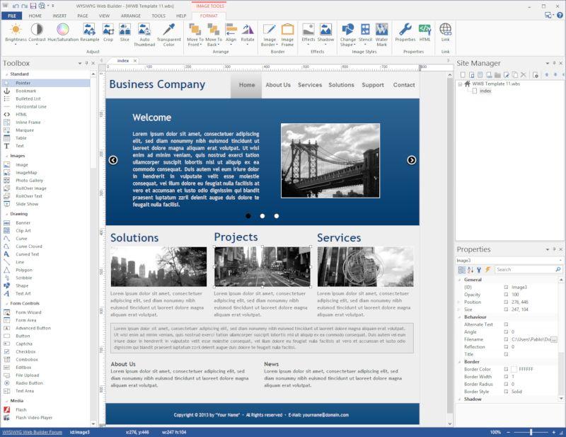 دانلود WYSIWYG Web Builder 14.1.0 – نرم افزار طراحی آسان صفحات وب