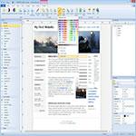 WYSIWYG-Web-Builder-اسکرین-شات