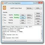 XAMPP-اسکرین-شات